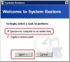 Explain Restore System with Effective Tools