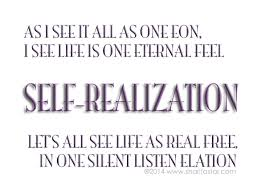 Discuss on the Self-Realization Instinct
