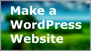 Make a WordPress Website