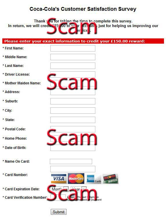 Prevent Paid Survey Scams