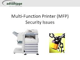 MFP Security Seriously