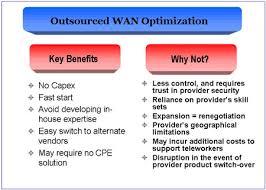 Managed WAN Optimization Services