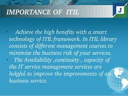 Importance of ITIL Training