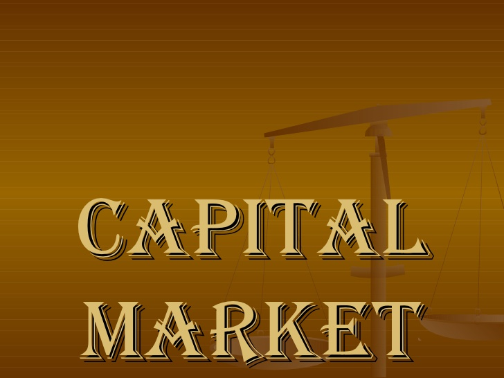 Define on Capital Market