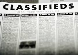 Usefulness of Online Classified Advertisements