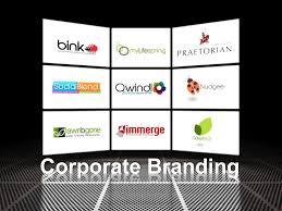 Categories of Corporate Branding