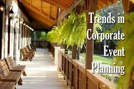Explain Corporate Event Trends