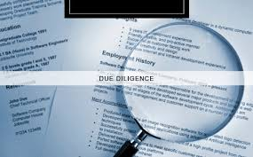 Describe Due Diligence