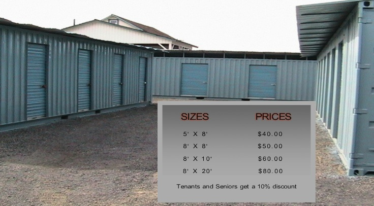 Define on Some Commercial Mini Storage Spaces