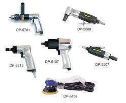 Discuss on types of Pneumatic Tools