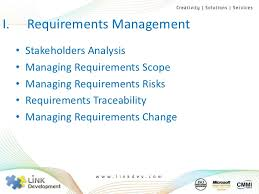 Scope Management and Requirements Management