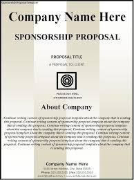 How to Write Sponsorship Proposal