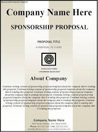How to Write Sponsorship Proposal