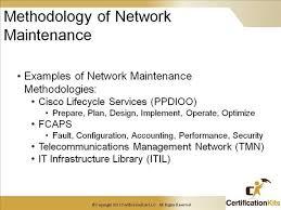 Network Maintenance Plan