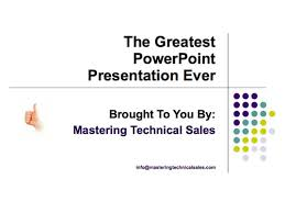 Perfect PowerPoint Presentations