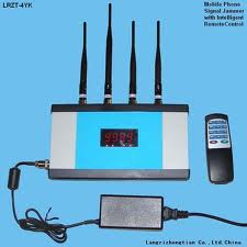 Remote Control Signal Jamming