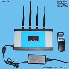 Remote Control Signal Jamming