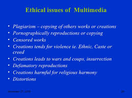 Ethical Implications in Multimedia