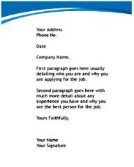 Suggestions for Writing Job Letters
