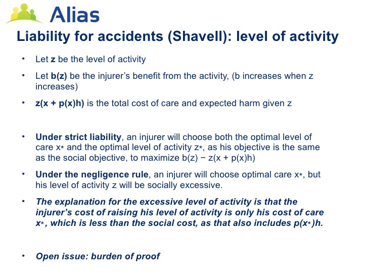 Legal Liability for Accidents