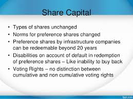 Lecture on Share Capital
