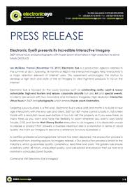 Business Press Releases