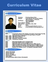 How to Write Curriculum Vitae Perfectly