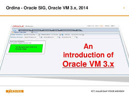 Introduction to Oracle VM
