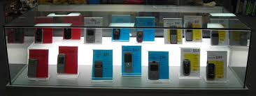 Describe Flexibility of Display Cabinets