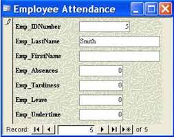 Allegations of Employee Attendance