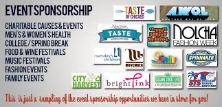 Advantages of Event Sponsorship