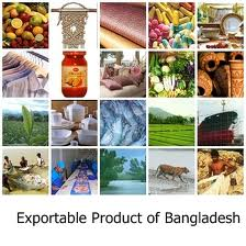 Exporting Products Positioning of Bangladesh