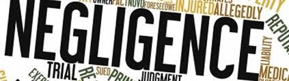 Burden of proof of Negligence