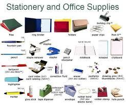 Ordering Office Stationary and Supplies Online