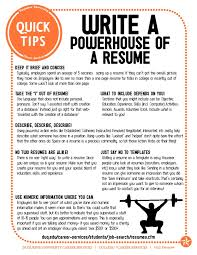 Guidelines to Write a Powerful Resume