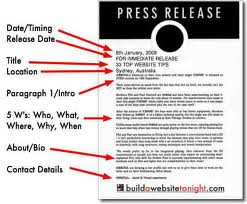 Reasons for Press Release Fails