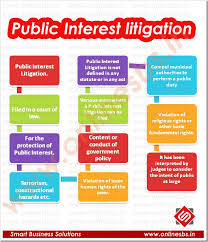 Informative analysis on Public Interests Litigation