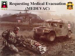 Requesting Medical Evacuation