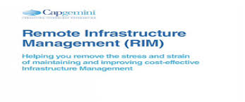 Discuss on Remote Infrastructure Management