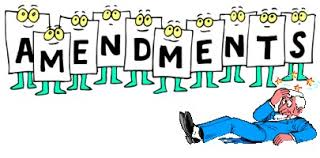 Necessity of Amendment