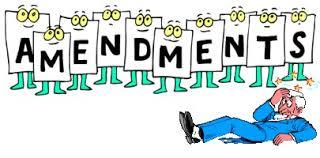 Necessity of Amendment