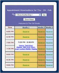 Appointment Scheduling Services