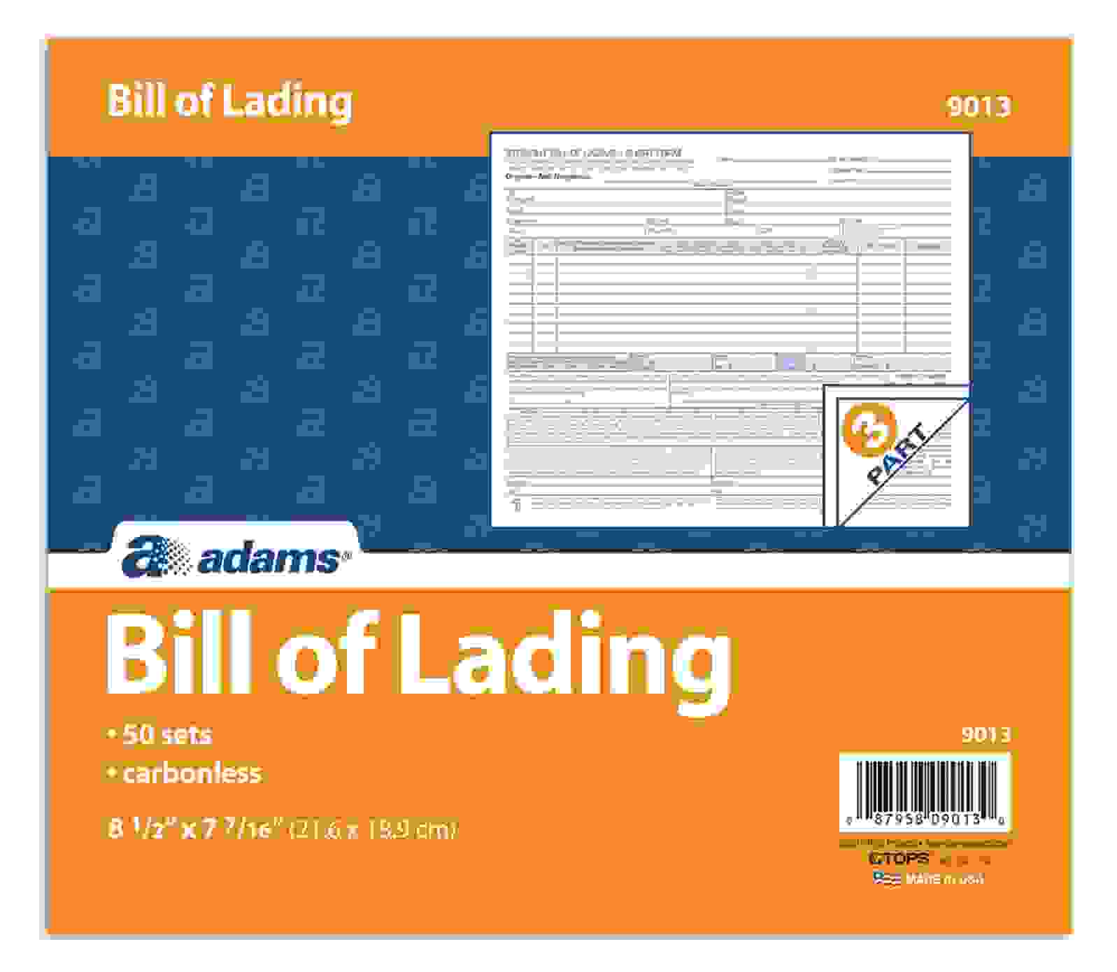 Bill of Lading Rules