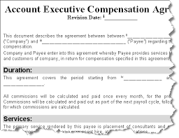 Executive Compensation Agreement