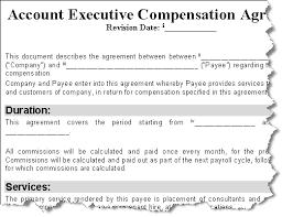 Executive Compensation Agreement