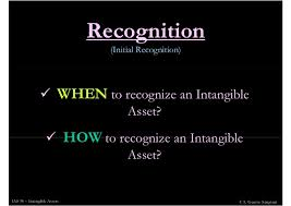 Initial Recognition and Classification