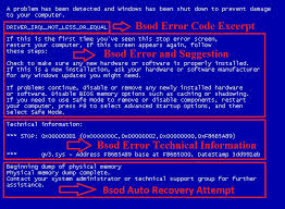 Blue Screen Error Codes