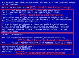 Blue Screen Error Codes