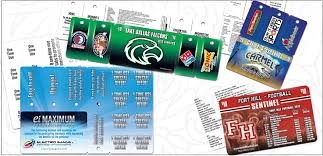 Plastic Fundraising Cards
