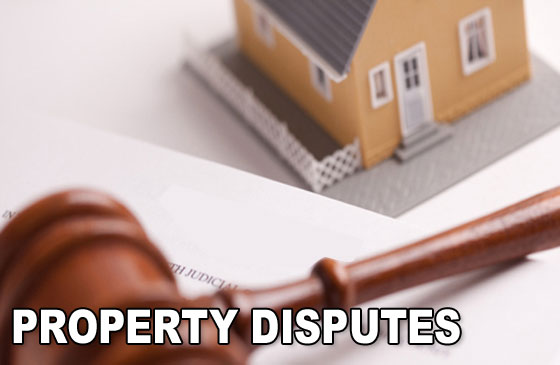 Property in Dispute